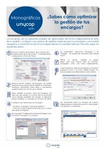 MONOGRAFICO GESTION DE ENCARGOS Marzo 20153